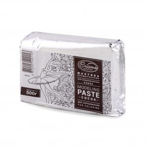 Мастика для моделирования с какао-маслом белая Criamo, 500 г