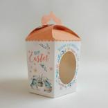 Коробка пасхальная, Заяц бежевый, 145*165*160