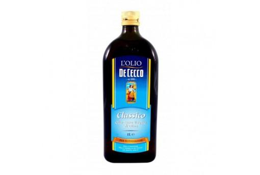 Масло фасованное, оливковое, емкость, 1 л, De Cecco, Италия