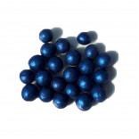 Сахарные жемчужины перламутровые синие, 10 мм