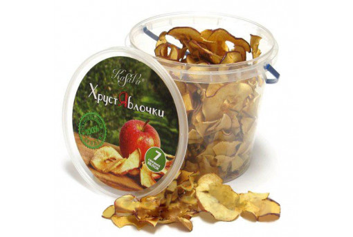 Чипсы натуральные яблочные, 70 г