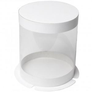 Упаковка прозрачная для торта 250х245х265