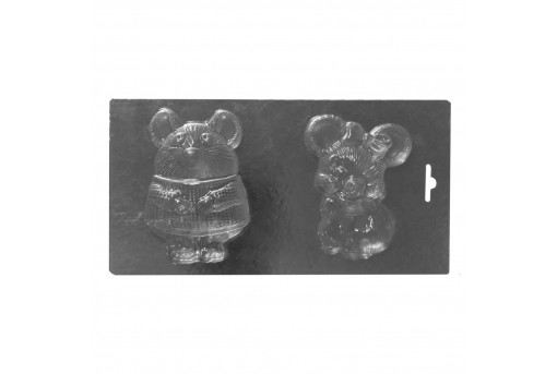 Форма пластиковая Крыски-мышки