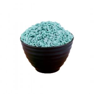Глазурь осколки голубые, 14 кг