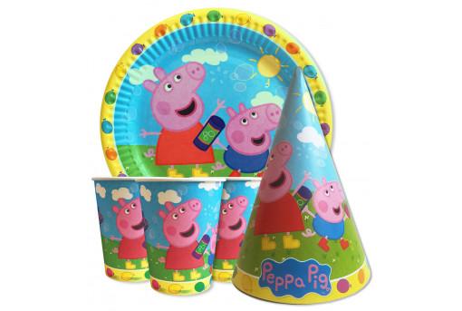 Набор для детского дня рождения Свинка Пеппа