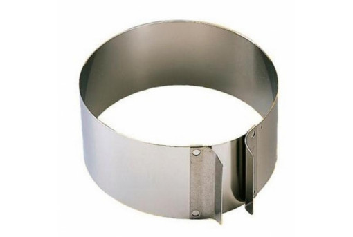 Форма металлическая порционная раздвижная круглая