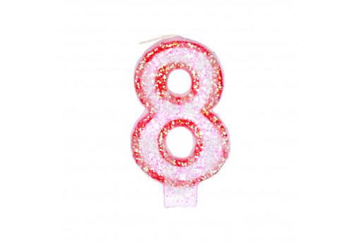 Свеча Цифра 8