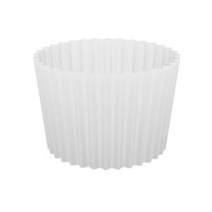 Форма бумажная для кексов, набор, упаковка, 100 шт, белые