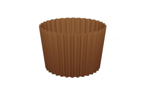 Форма бумажная для кексов, набор, упаковка, 100 шт, коричневая