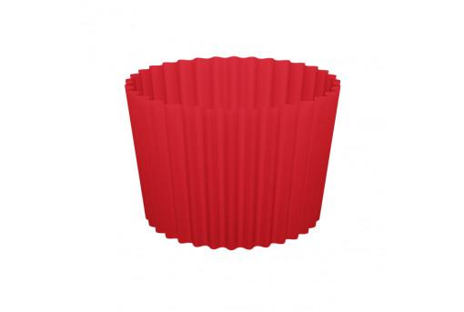 Форма бумажная для кексов, набор, упаковка, 100 шт, красные
