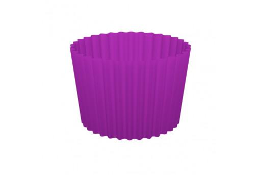 Форма бумажная для кексов, набор, упаковка, 100 шт, фиолетовые