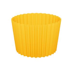 Форма бумажная для кексов, набор, упаковка, 100 шт, желтые