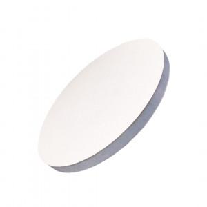 Подложка уплотненная круглая белая 25 см
