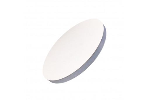 Подложка уплотненная круглая белая 35 см