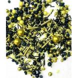 Посыпка Желто-черный микс, 50 г