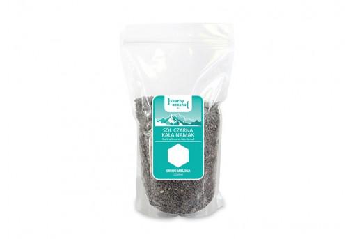 Соль черная Kala Namak грубого помола Skarby Oketanu, 1 кг