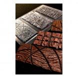 Форма пластиковая Шоколадная плитка (кора)