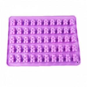 Силиконовая форма для конфет Мишки