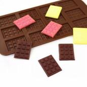 """Силиконовая форма для конфет """"Мини шоколад"""""""