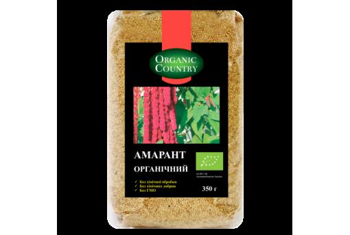 Зерно амарантовое органическое ORGANIC COUNTRY, 350 г