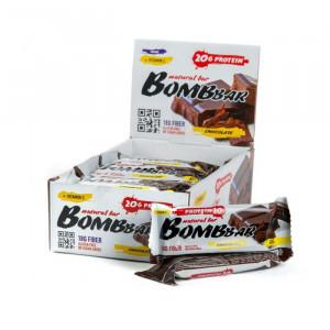 Протеиновый батончик Двойной шоколад Bombbar, 60 г