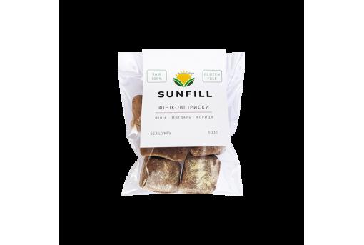 Конфеты SunFill Финиковая ириска, 100 г