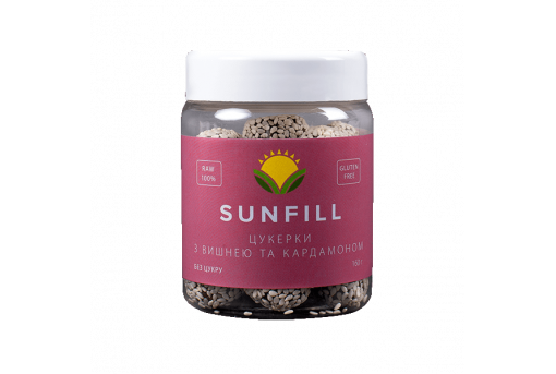 Конфеты SunFill Вишня с кардамоном, 160 г