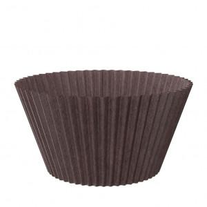 Форма бумажная для маффинов коричневая, 55*42 мм
