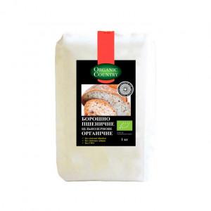 Мука пшеничная цельнозерновая органическая Organik Country, 1 кг