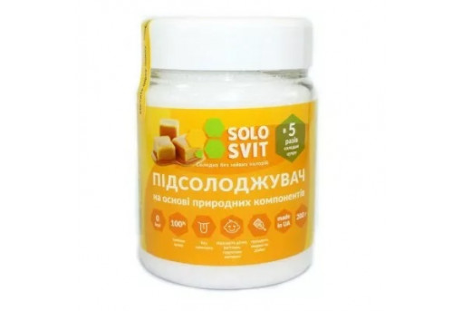Экстрат стевии 200 г, SoloSvit