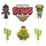Сахарные фигурки Brawl Stars