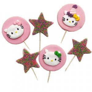 Сахарные фигурки Hello Kitty