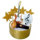 Сахарные фигурки в виде музыкального набора