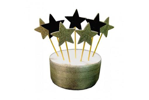 Сахарные фигурки в форме звезд