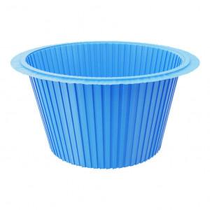 Капсула для капкейков синяя, 50*35 мм