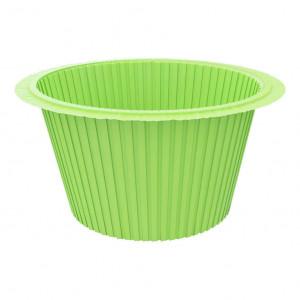 Капсула для капкейков зеленая, 50*35 мм