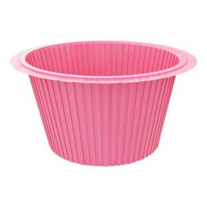 Капсула для капкейков розовая, 50*35 мм