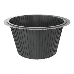 Капсула для капкейков черная, 50*35 мм