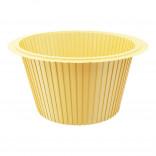 Капсула для капкейков желтая, 50*35 мм