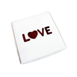 Коробка для пряников LOVE, 150x150x50 мм