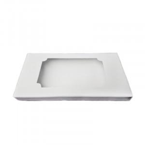 Коробка для шоколада белая, 160x80x15 мм