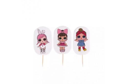 Сахарные фигурки Кукол LOL