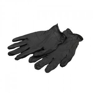 Перчатки нитриловые черные L, 5 пар
