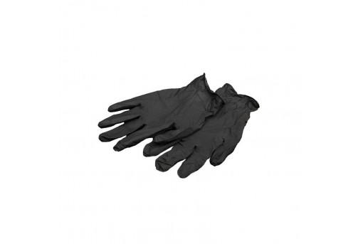 Перчатки нитриловые черные M, 5 пар