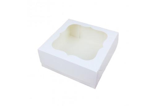 Коробка для зефира белая
