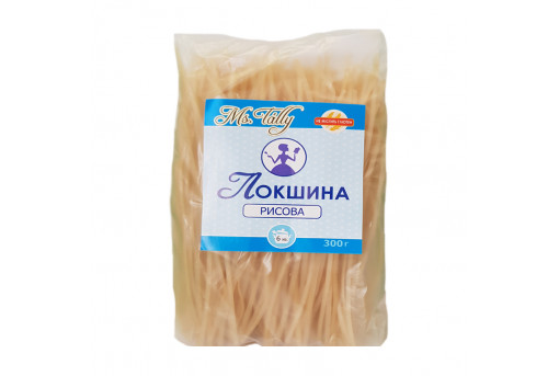 Лапша безглютеновая рисовая, 300 г