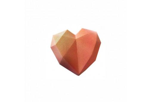 Форма силиконовая Граненое сердце, Empire