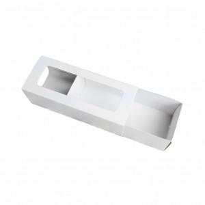 Коробка для макарон белая