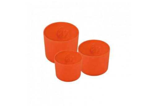 Набор силиконовых форм для паски 3 штуки