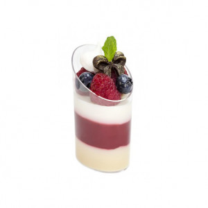 Креманка для десертов Овал, 45 мл